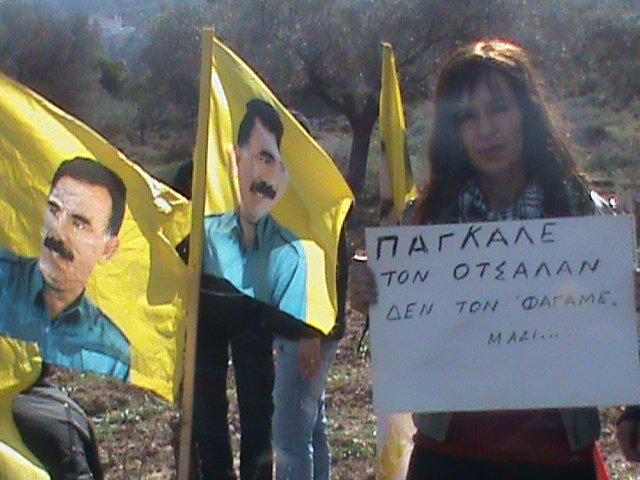 Απεργία πείνας Κούρδων και Ελλήνων για τα 14 χρόνια από την παράδοση Οτσαλάν