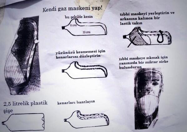 Τουρκία: φτιάξε μια αντιασφυξιογόνο μάσκα μόνος σου!