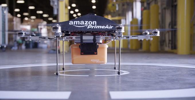 Η Amazon σχεδιάζει την παράδοση παραγγελιών σε 30 λεπτά με τηλεκατευθυνόμενα ελικοπτεράκια (drones)