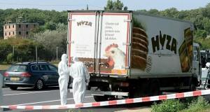 Άνθρωποι και κοτόπουλα (71 οι νεκροί μες στο φορτηγό-ψυγείο στην Αυστρία)