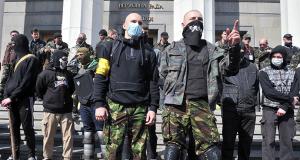 Με «αίμα και τιμή» οι νεοναζί μπαίνουν στην ουκρανική κυβέρνηση