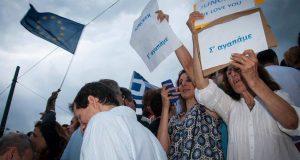 «Παραιτηθείτε»: Από τη Συγγρού με άρωμα Μαϊντάν